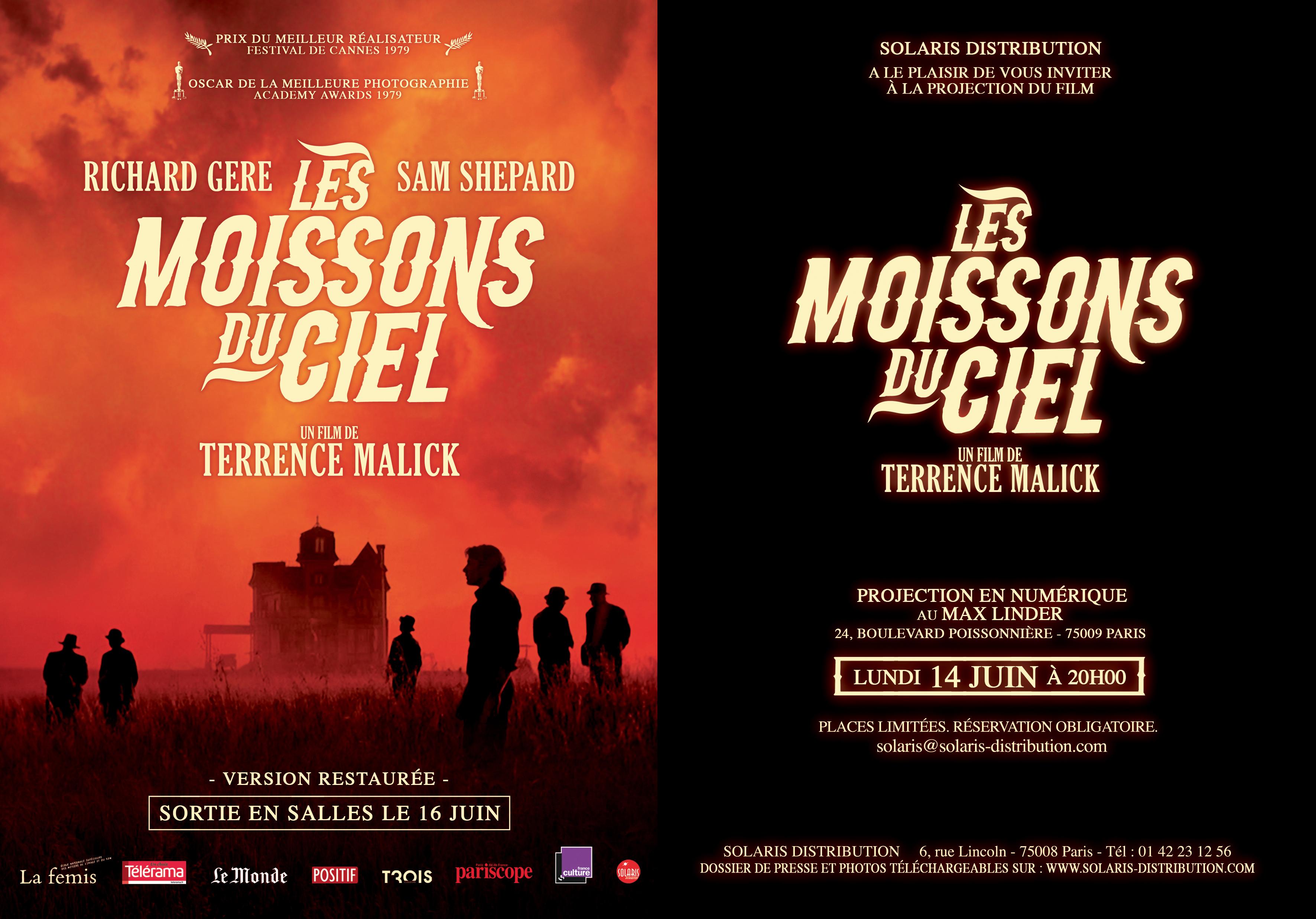 LES MOISSONS DU CIEL AVP